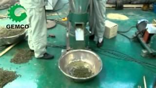 Grass Pellet Mill. Green Grass…