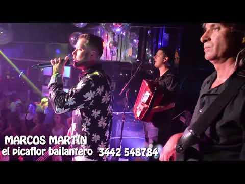 MARCOS MARTIN Y Los Del Amanecer En Vivo Flamingo