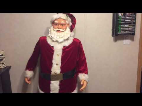 5FT dancing Santa Gemmy