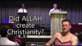 هل الله أو الشيطان خداع المسيحيين وخلق المسيحية؟! Br. عبدالرحمن v العلاقات العامة. مايك النقاش