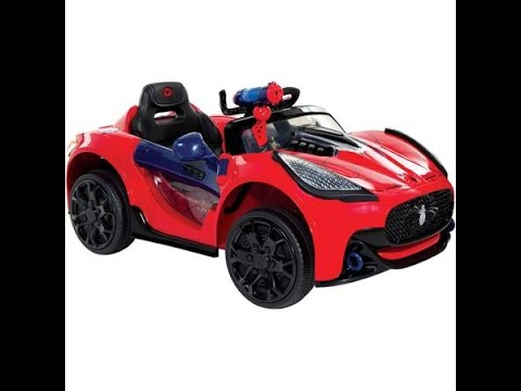 spiderman voiture super lectrique pour enfant de 6 v spiderman voiture jouet voiture jouet. Black Bedroom Furniture Sets. Home Design Ideas