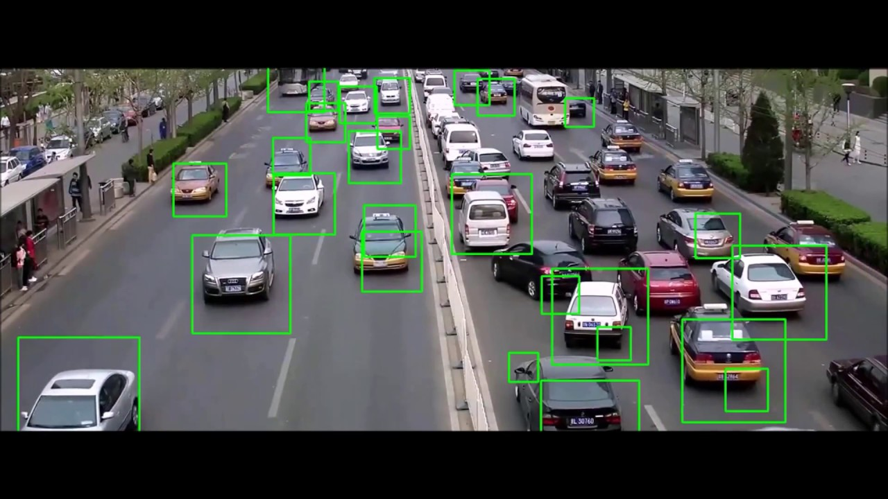 Vehicle Detection by using SVM with HOG features - OpenCV (Source Code)