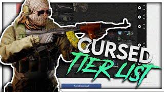 The Tarkov Cursed Gun Tier List | Escape From Tarkov Highlights