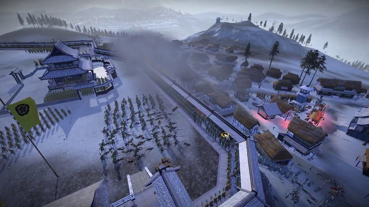 雷龍爆『全軍破敵:幕府將軍2 Total War: Shogun 2』#14 織田火槍 戰國第一 - YouTube