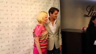 Roger Federer Feeds Off New York Energy