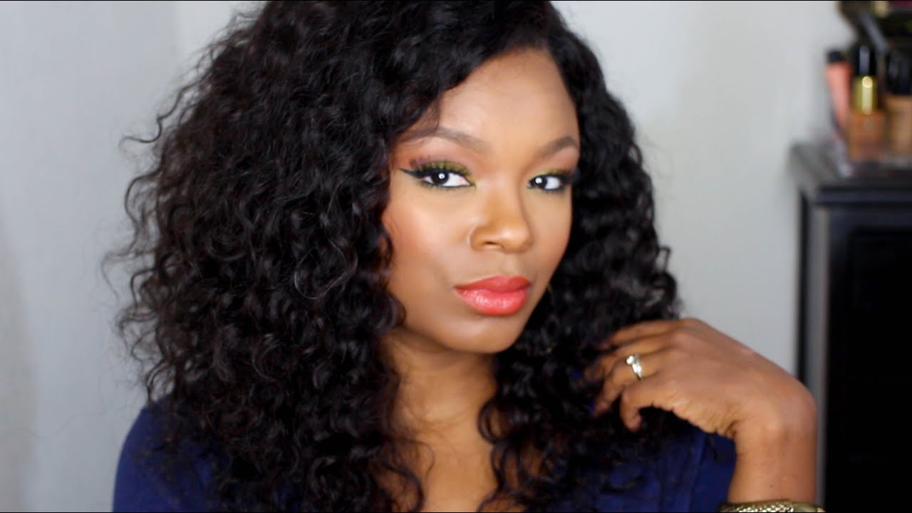 Wig Play Wowafrican Deep Wave Lace