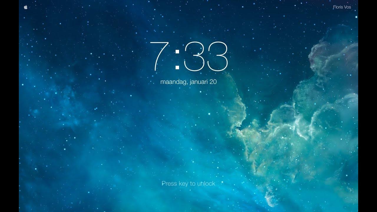 IOS 7 Screensaver For Mac - YouTube