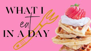 What I Eat in a Day  Christi Lukasiak