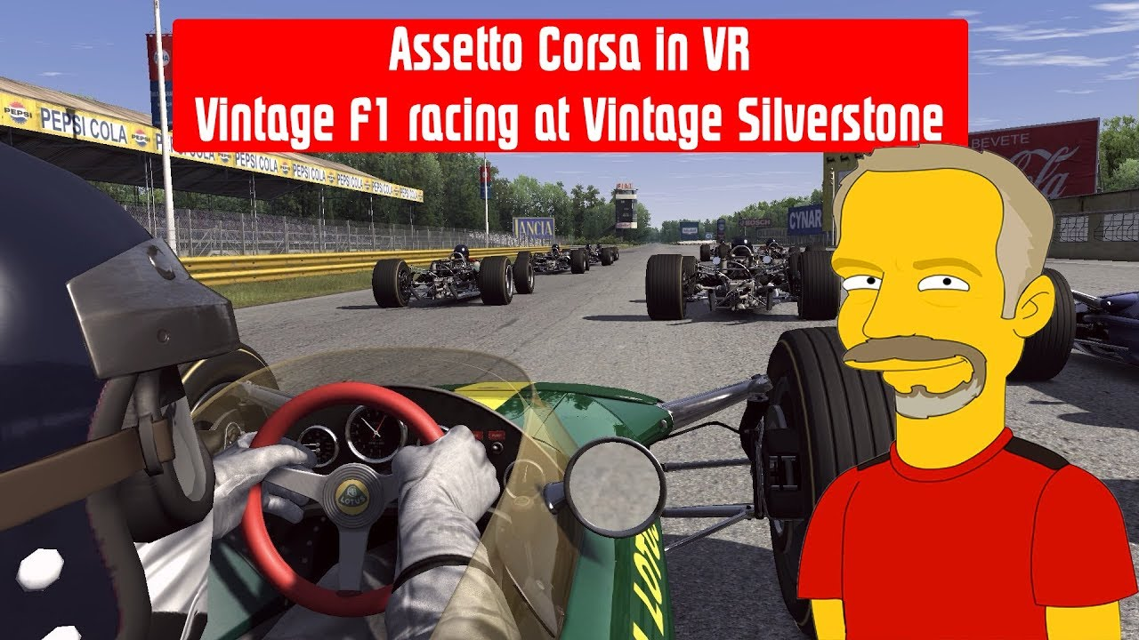 Assetto Corsa in VR - Vintage F1 at Vintage Silverstone