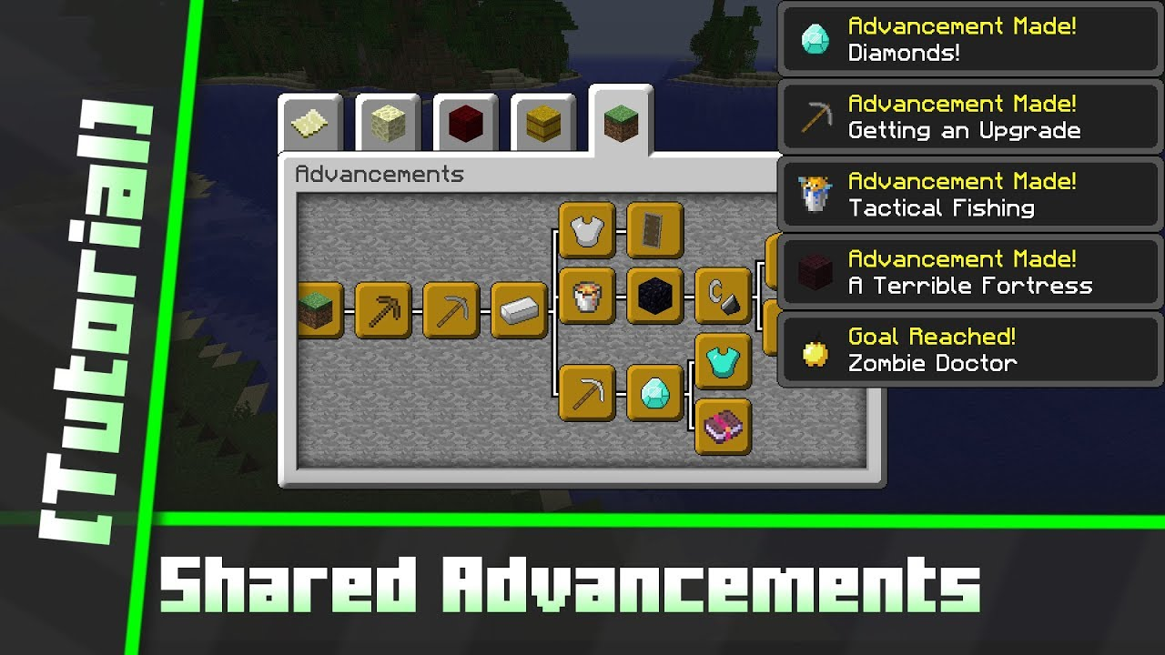 how to give all achievements in minecraft