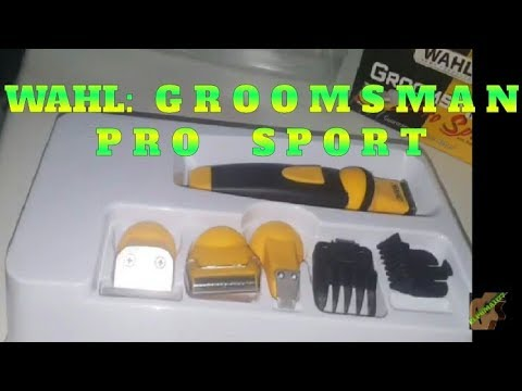 WAHL  GroomsMan PRO Sport Unboxing - YouTube ae3ffc9743e4