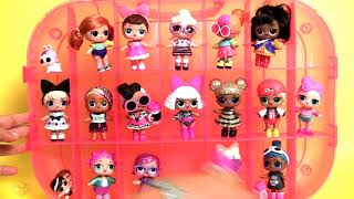 L.O.L. Surprise! Fashion Show On-The-Go StoragePlayset with Doll Included – Hot Pink
