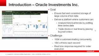 Stock Trading and Analysis using Oracle NoSQL Database