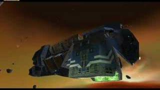 Homeworld Cataclysm Intro (movie + in-game cutscene)