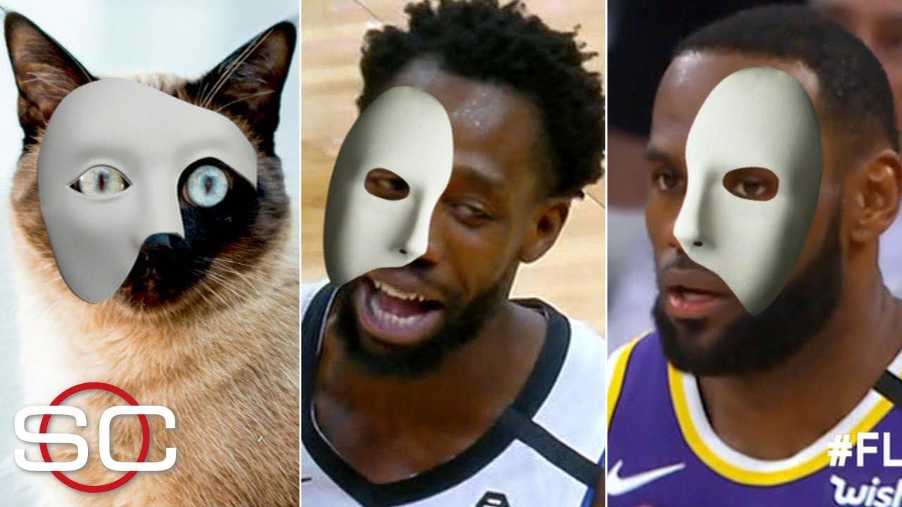 Phantom of the Flopera: LeBron, Patrick Beverley & 'Cat Beverley'   SportsCenter