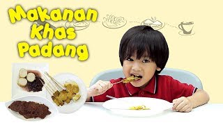 KATA BOCAH tentang Rendang, Sate Padang, Teh Talua (Makanan Khas Padang) | #24