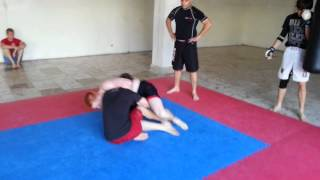 MMA Michalovce trening video 1 13.6.2013