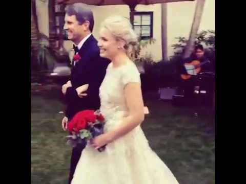 Leah Pipes and AJ Trauth Wedding