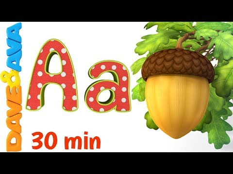 🤩Phonics Song 2  Learn ABC's and Phonics  Nursery Rhymes and ABC Songs for Kids from Dave and Ava🤩