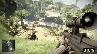Battlefield: Bad Company 2 Gameplay - (High Settings) (940MX 50FPS) (PC HD) (Pre-2018)