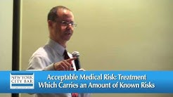 NY Medical Malpractice Attorney Gerry Oginski Lectures at NYC Bar- Med Mal Bridge the Gap