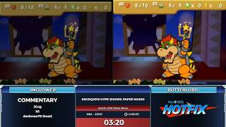 GDQ HOTFIX Presents: #SGDQ2018 Hype Shows: Paper Mario