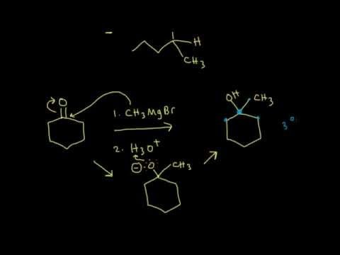 Synthesis Of Alcohols Using Grignard Reagents I | Organic Chemistry | Khan Academy