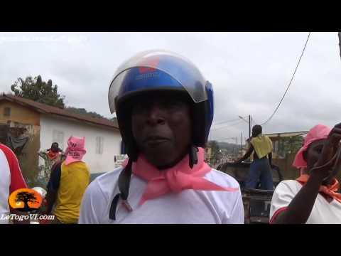 """""""Le Togo n'est pas un royaume"""". Les taxis-motos d'Atakpame veulent un autre nom à la tête de l'Etat"""