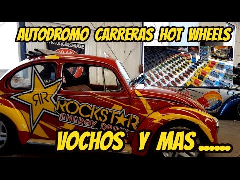 We visited the racetrack and found Carreras, Volkswagen, hot wheels and many more | Custom Mexico