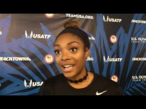 Oregon's Deajah Stevens talks about making the Olympic team