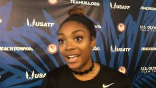 Oregon's Deajah Stevens talks about making the Olympic team