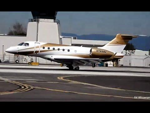 MGM Mirage Resorts Embraer EMB-550 Legacy 500 N781MM Santa Monica Airport