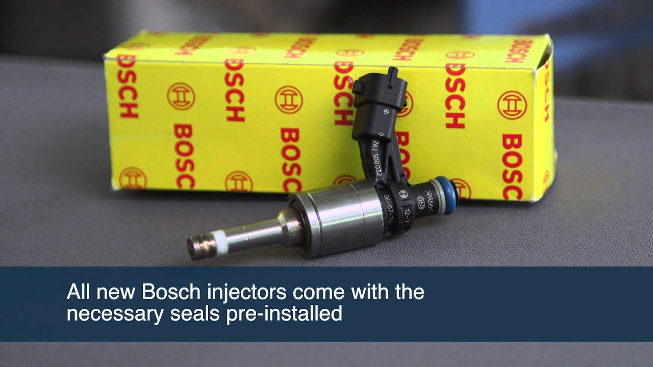 Removing Installing A Bosch Gdi Injector Youtube Buick Enclave Battery