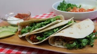 Quick Chicken Tacos~Quick & Easy~Weeknight Dinner Ideas~Chile & Lime Chicken Tacos~Noreen's Kitchen