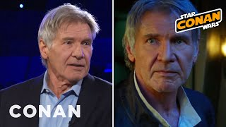 harrison ford wanted han to die in return of the jedi conan on tbs