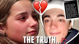 annie leblanc reveals the DARK SIDE of asher angel's family.. *THEY BROKE UP*