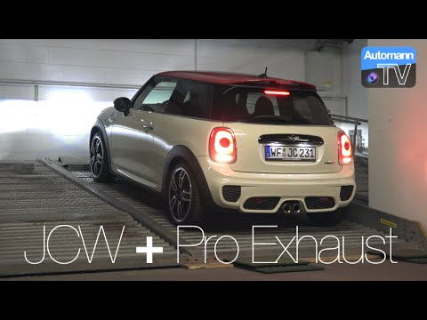2016 Mini Jcw Pro Exhaust Pure Sound 60fps Youtube