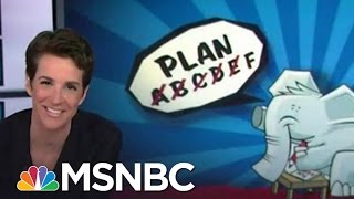 Anti-Trump GOPers Consider Trick Shot Strategy | Rachel Maddow | MSNBC
