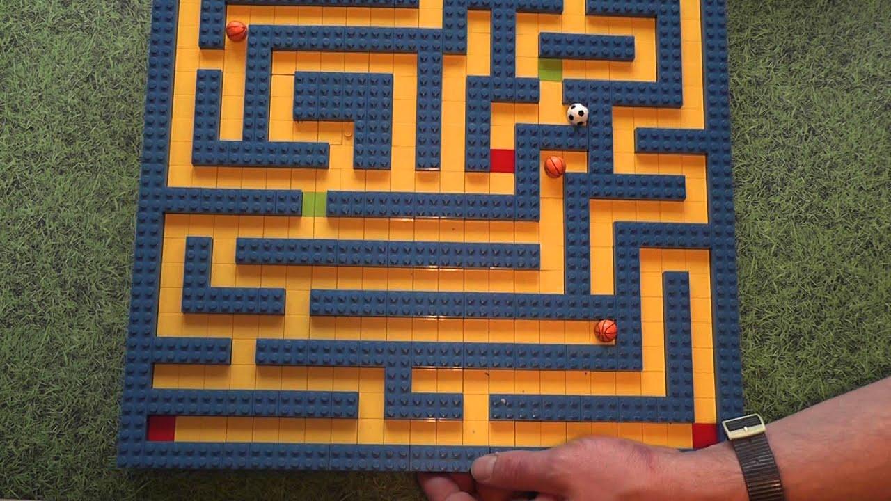 Lego Marble Maze Youtube