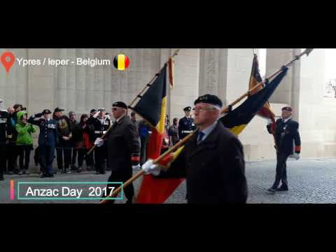 Anzac Day 2017 | Ypres / Ieper