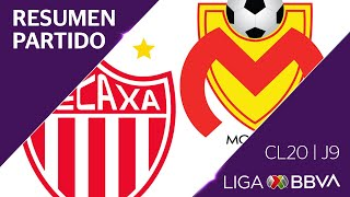 Resumen y Goles | Necaxa vs Morelia | Jornada 9 - Clausura 2020 | Liga BBVA MX