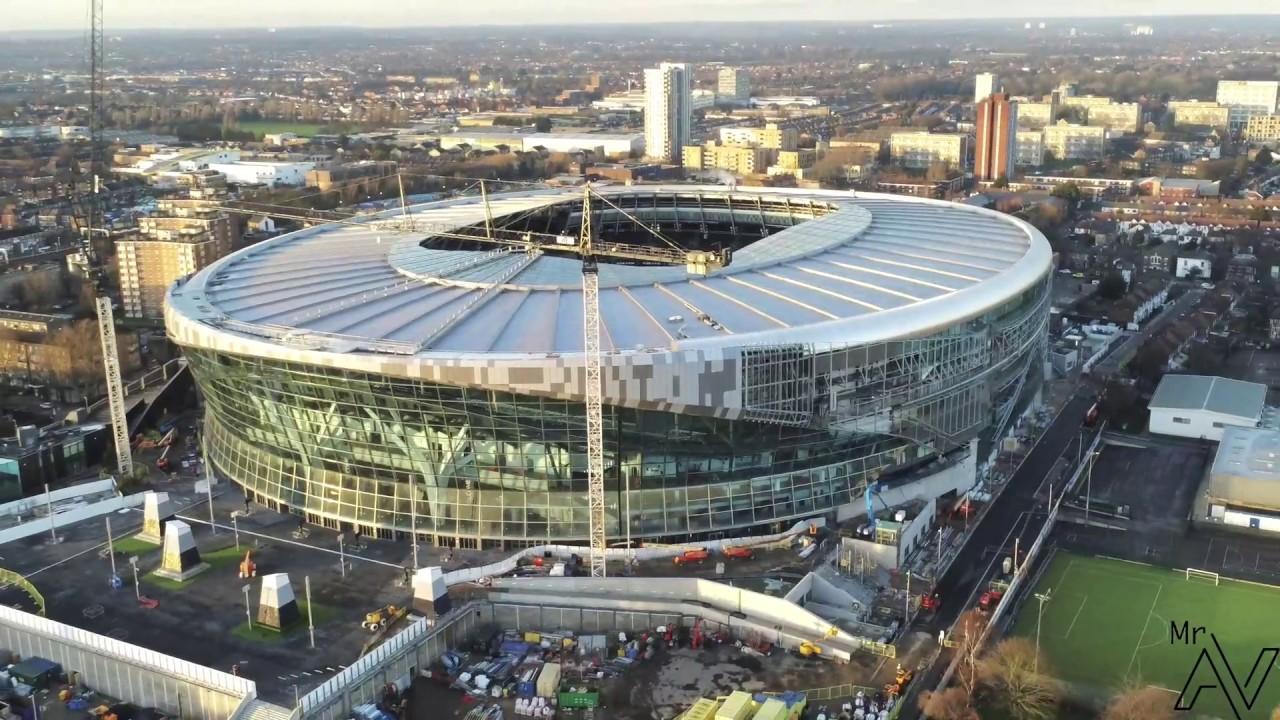 24 12 18 Tottenham Hotspur New Stadium Youtube