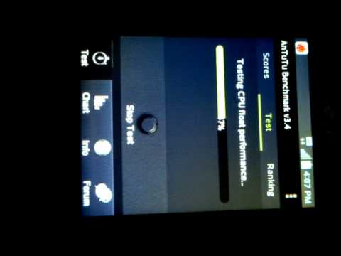 LG Optimus L3 II Antutu Benchmark v3.4