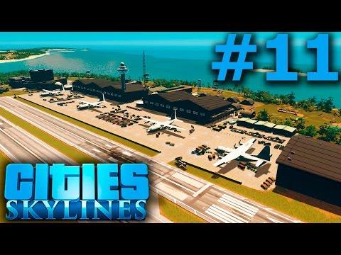 Cities: Skylines - BASE MILITAR - Rairan #11