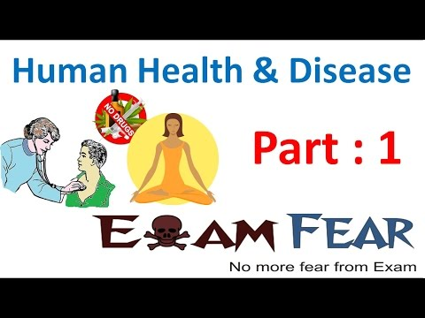 Biology Human Health & Diseases part 1 (Introduction) class 12 XII thumbnail
