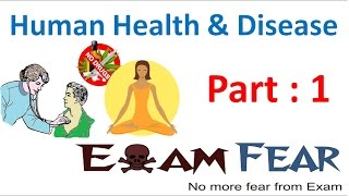 Biology Human Health & Diseases part 1 (Introduction) class 12 XII