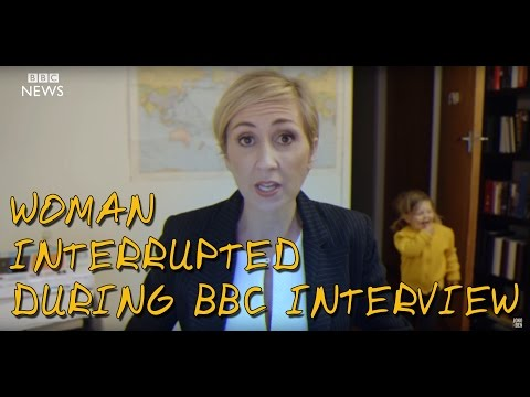Thumbnail: Woman Interrupted During BBC Interview