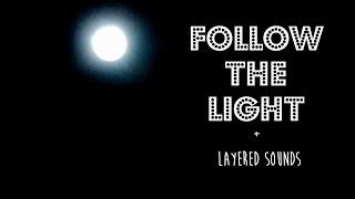 Binaural ASMR ♥ Follow the Light + Layered Sounds | Visual Relaxation
