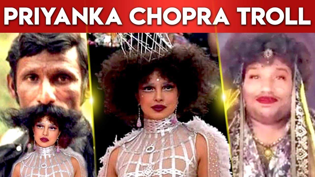 Priyanka Chopra Hairstyle Troll Metgala2019 Event Yogibabu