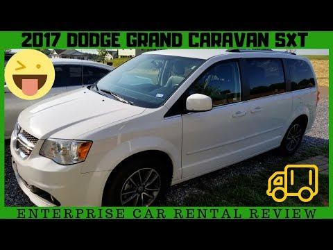 Dodge Grand Caravan SXT 2017 Enterprise Rental Van Car Review + Features
